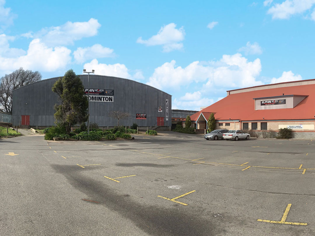 Elphin Sports Centre Outside